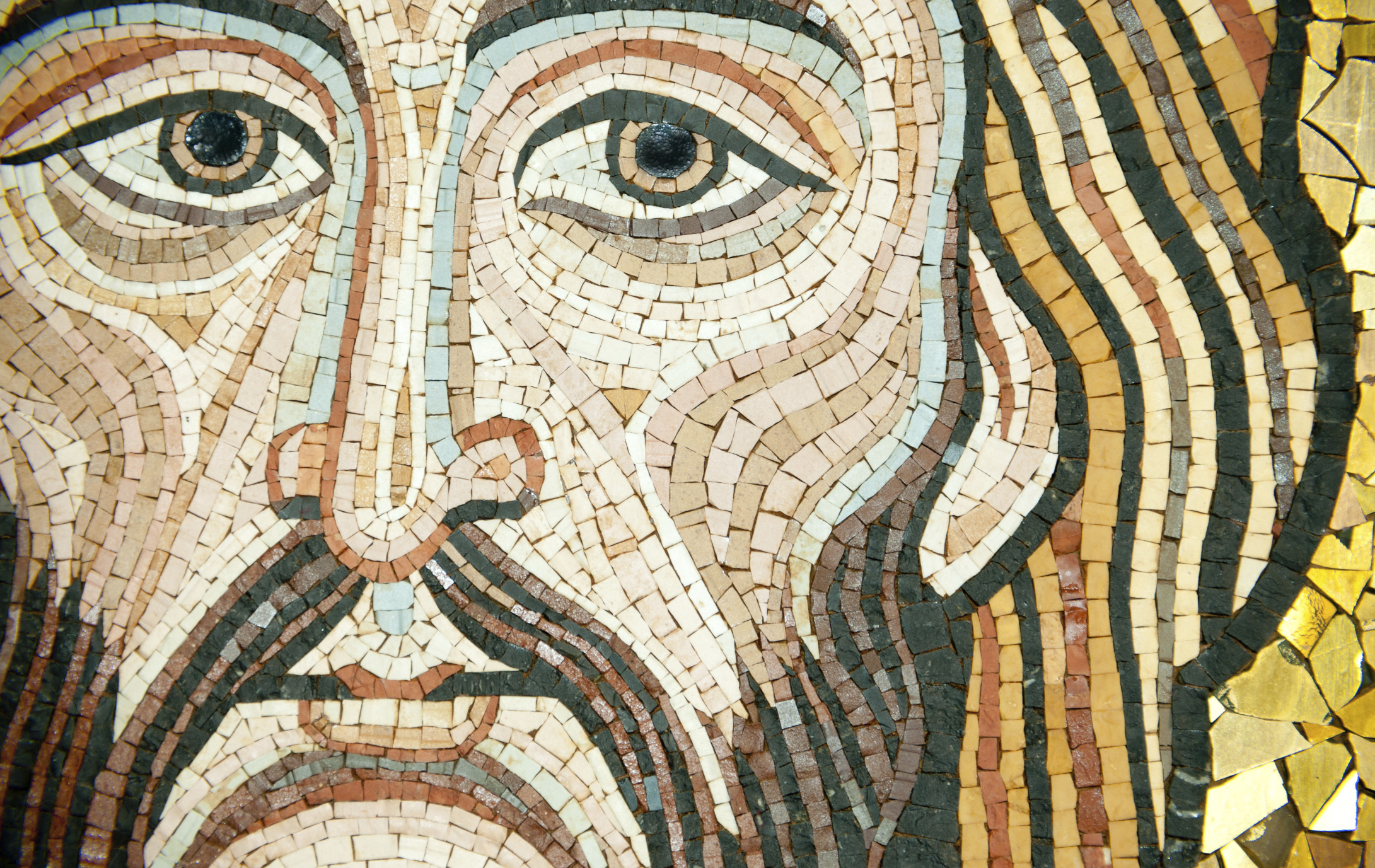 mosaic of jesus